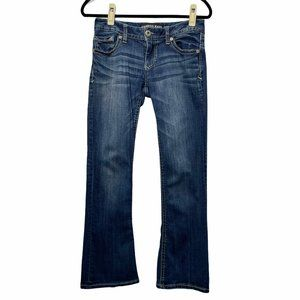 Express Stella Low Rise Boot Cut Jeans Size 4S